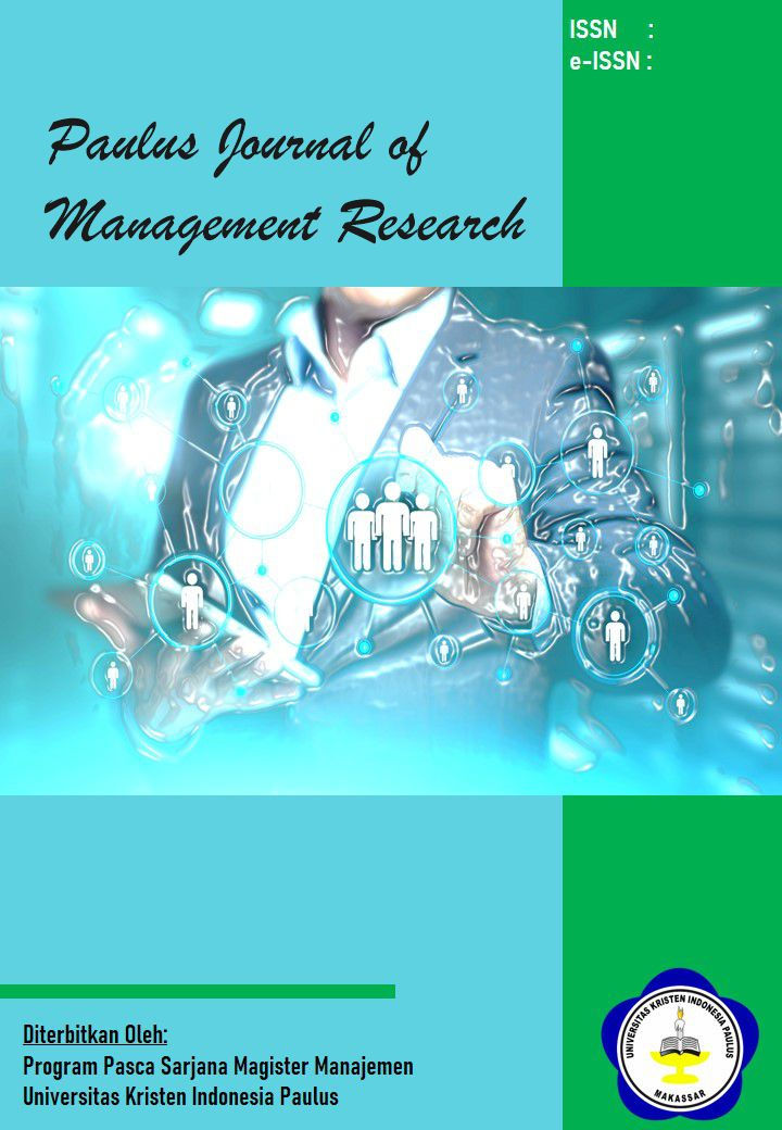 Paulus Journal of Management Research